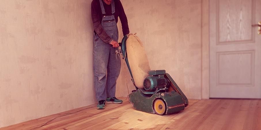 Så slipar du golvet dammfritt